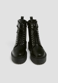 PULL&BEAR - Veterboots - black - 5