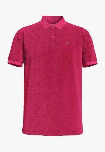 Polo shirt - bright cerise pink