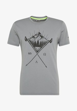 TRANSALPER GRAPHIC TEE - Print T-shirt - quiet shade