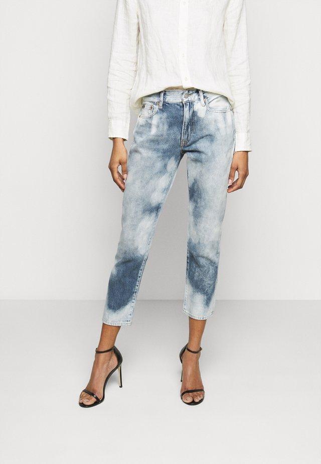 NALIA WASH - Skinny džíny - bleached indigo
