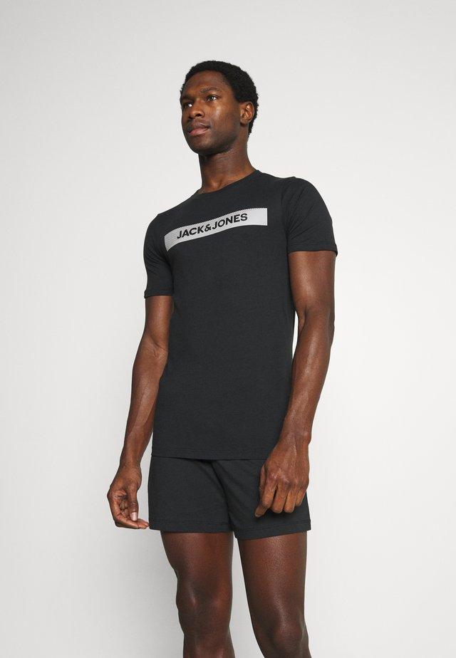 JACSHAWN SHORT PANTS SET - Pyjama - black/black
