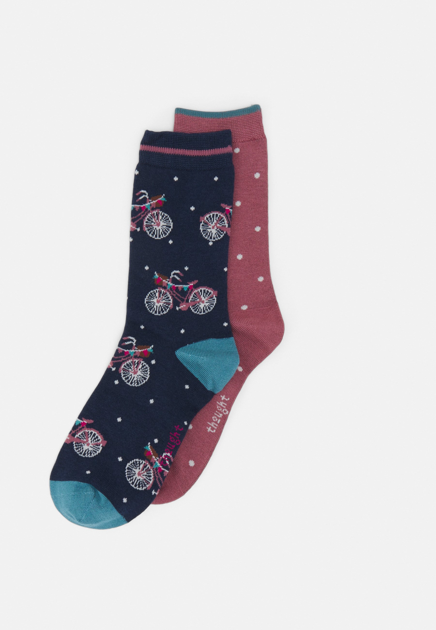 Donna VELMA BICYCLE SOCKS IN A BAG 2 PACK - Calze
