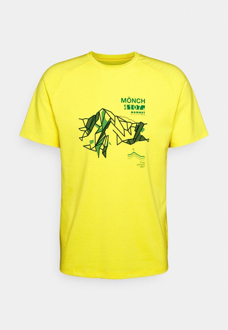 Mammut - MOUNTAIN MEN - Print T-shirt - blazing