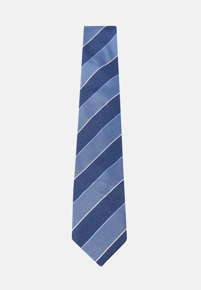 STRIPE TIE - Cravatta - blue
