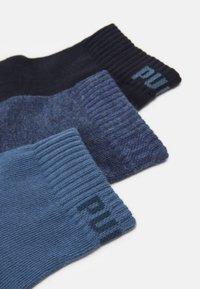 Puma - QUARTER PLAIN 6 PACK UNISEX - Calcetines de deporte - blue combo - 1