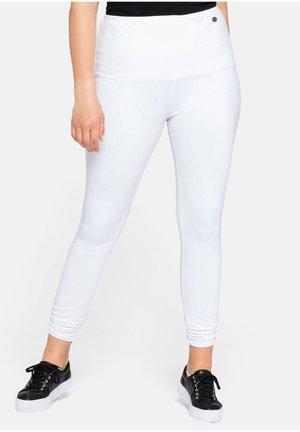 SHEEGO LEGGINGS - Leggings - Trousers - weiß