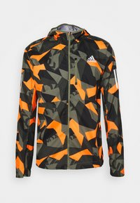adidas Performance - OWN THE RUN - Sports jacket - legacy greepp signal orange/black - 4