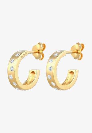 HOOPS  MINIMAL - Orecchini - gold