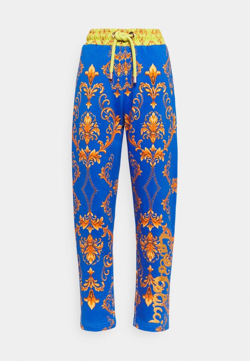 Carlo Colucci - Teplákové kalhoty - blue