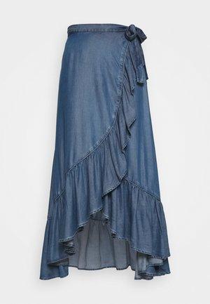 VERONIKA SKIRT - Wrap skirt - othonna dark