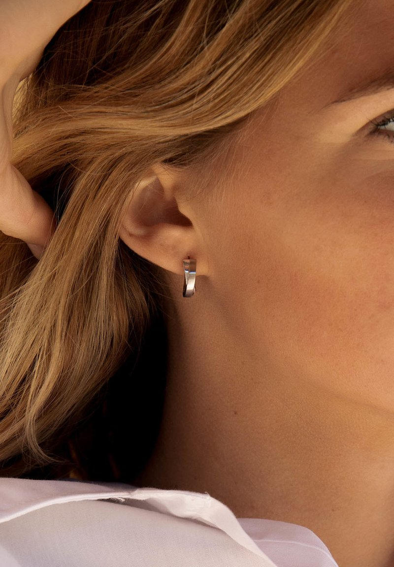 Parte di Me - Earrings - silver-coloured