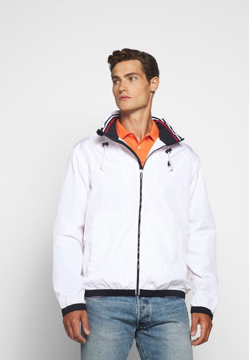 Polo Ralph Lauren - AMHERST FULL ZIP JACKET - Tunn jacka - pure white