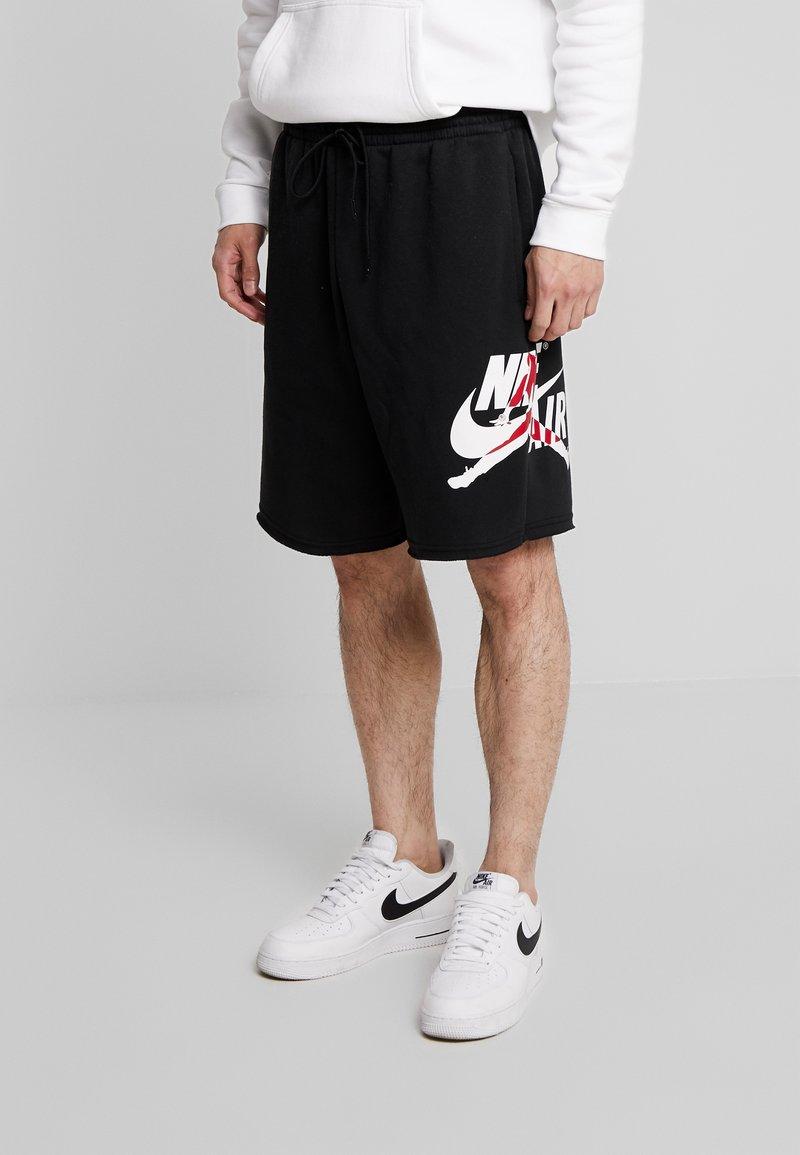 Jordan - JUMPMAN CLASSICS  - Teplákové kalhoty - black/white/gym red