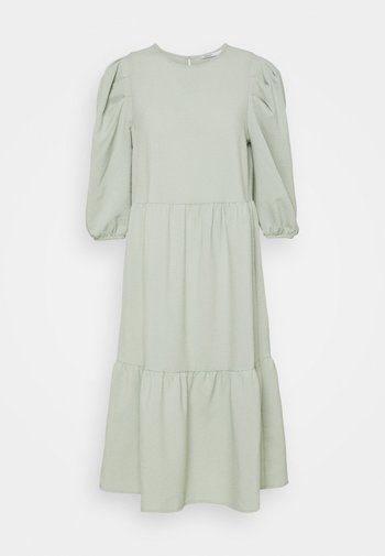 ONLVIVA BELOW KNEE DRESS - Day dress - desert sage