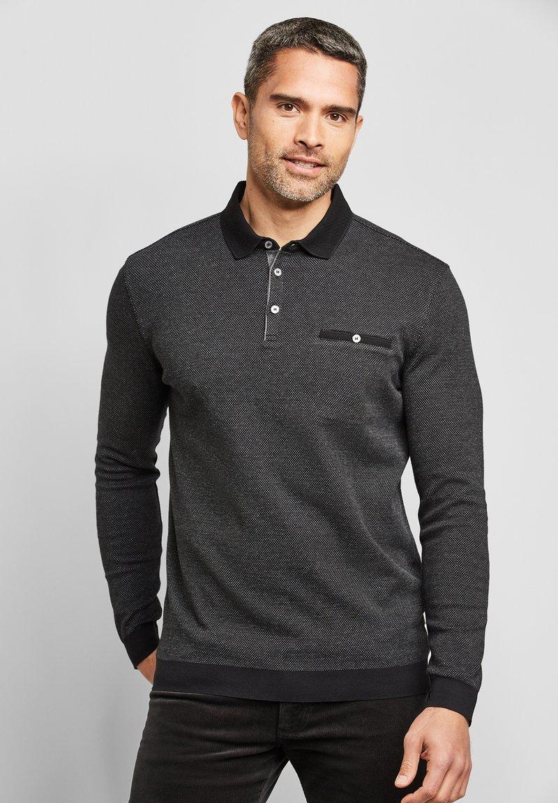 Bugatti - Polo shirt - schwarz