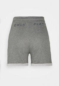 ONLY Play - ONPARETHA JAZZ  - Sports shorts - medium grey melange/dark grey - 8