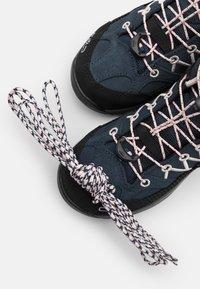 CMP - KIDS RIGEL MID SHOE WP UNISEX - Hiking shoes - asphalt/rose - 5
