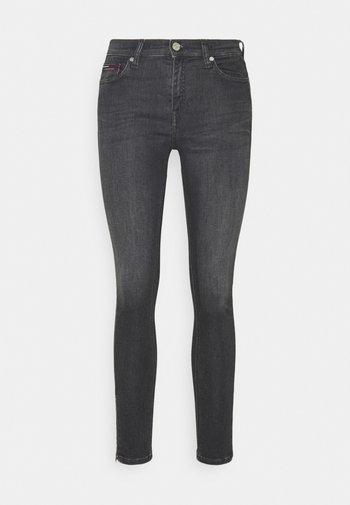NORA SKINNY ZIP - Jeans Skinny Fit - iris black