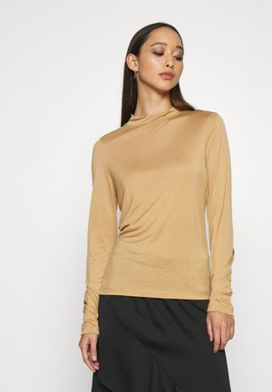ALLEGRA - Long sleeved top - camel