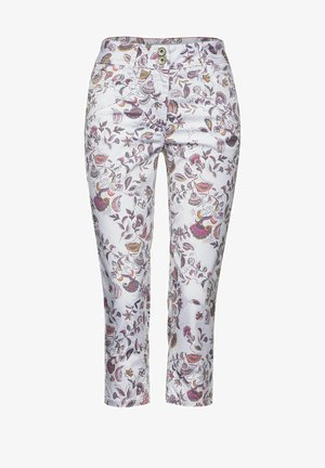 Jeans Shorts - weiß