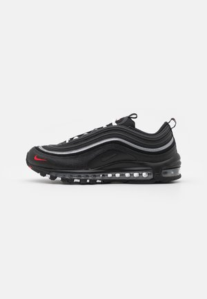 AIR MAX 97 - Sneakersy niskie - black/sport red/white/reflective silver