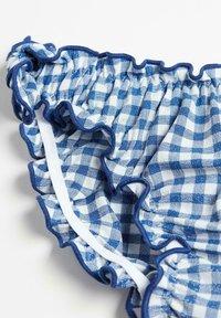 Calzedonia - Bikini bottoms - vichy hyper blue/bianco - 1
