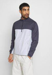 Nike Golf - SHIELD VICTORY HALF ZIP - Sportovní bunda - gridiron/sky grey/black - 0