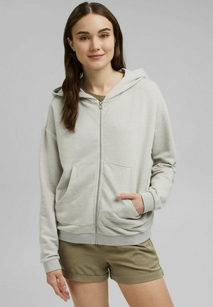 Zip-up hoodie - light grey