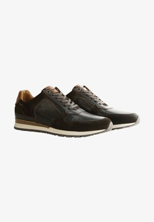 WELTON - Sneakers laag - dark brown