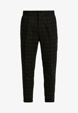 HARRISON TARTAN  - Pantalon classique - black