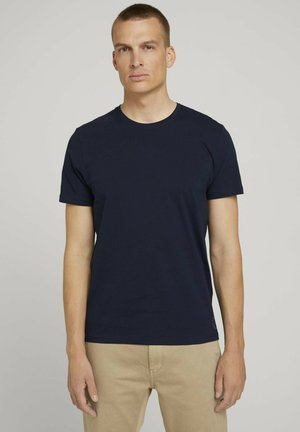 DOPPELPACK - Basic T-shirt - sky captain blue