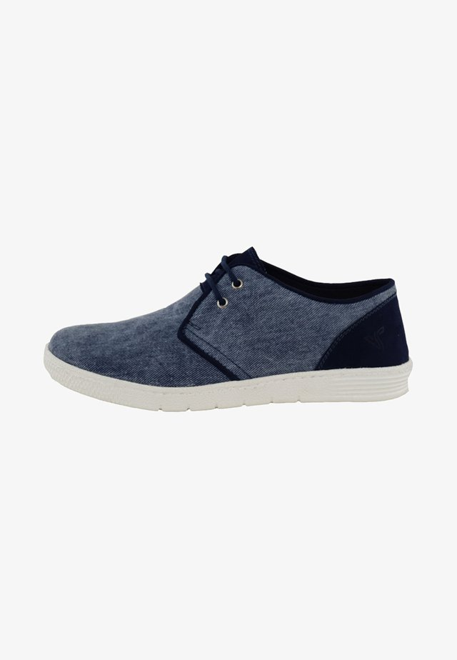 Casual lace-ups - blue denim
