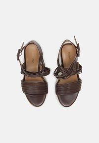 Even&Odd - Platform sandals - brown - 4