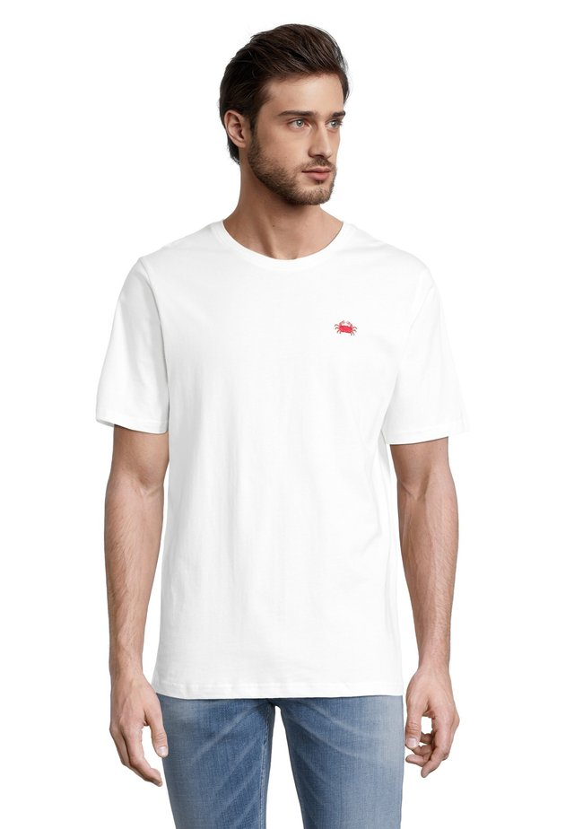KRABBE - T-shirt con stampa - offwhite