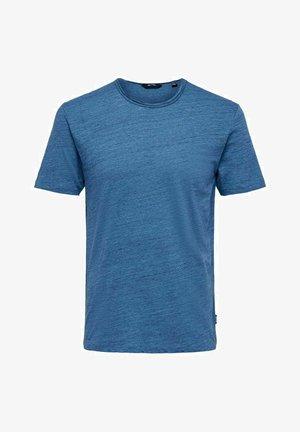 ONSALBERT LIFE NEW TEE - T-shirt basic - marina