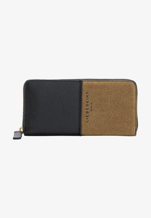 Wallet - sepia brown