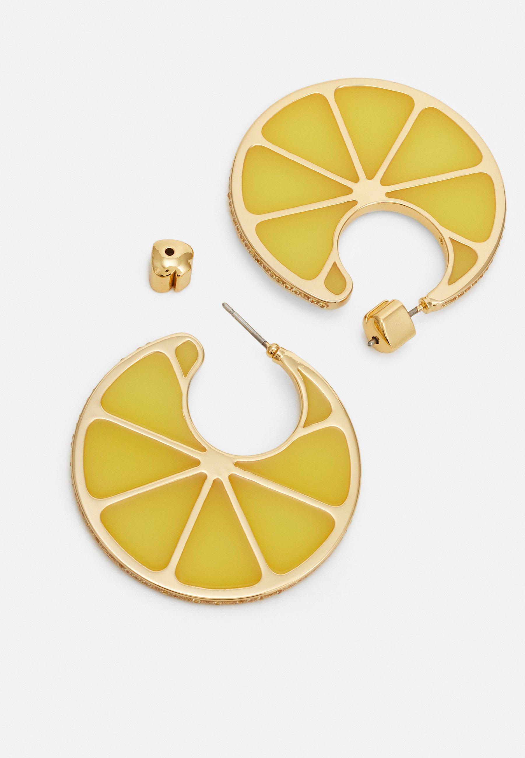 Kate Spade New York Tutti Fruity Lemon Hoops - Ohrringe Yellow/gelb