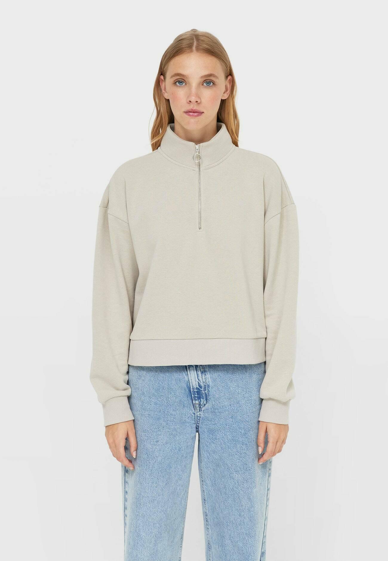 Damen MIT REISSVERSCHLUSS  - Sweatshirt