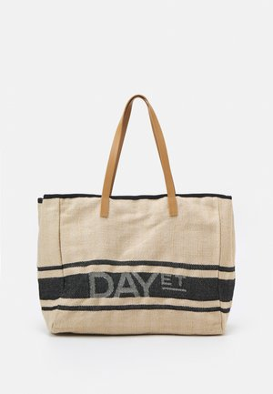 SHOPPER - Tote bag - cement