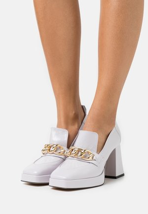 COSMIC DAY - Platform heels - violet