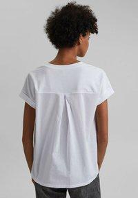 edc by Esprit - Print T-shirt - white - 2