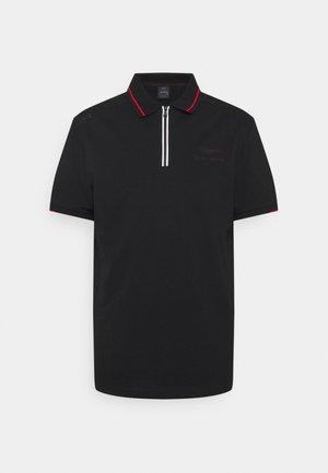 ZIP - Poloshirt - black