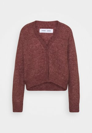ETAYA - Strickjacke - cinnamon