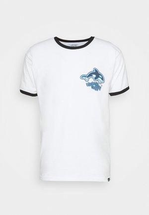 ORCA SCUBA RINGER TEE - Print T-shirt - white