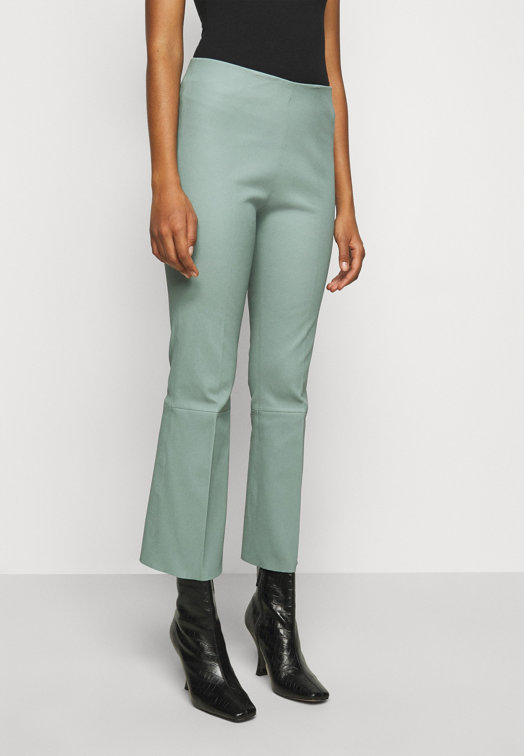 Women PHASE - Leather trousers