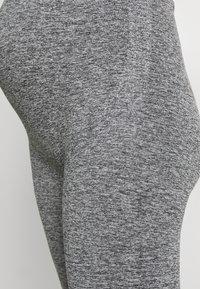 MAMALICIOUS - ACTIVE TIGHTS  - Leggings - Trousers - medium grey melange - 3