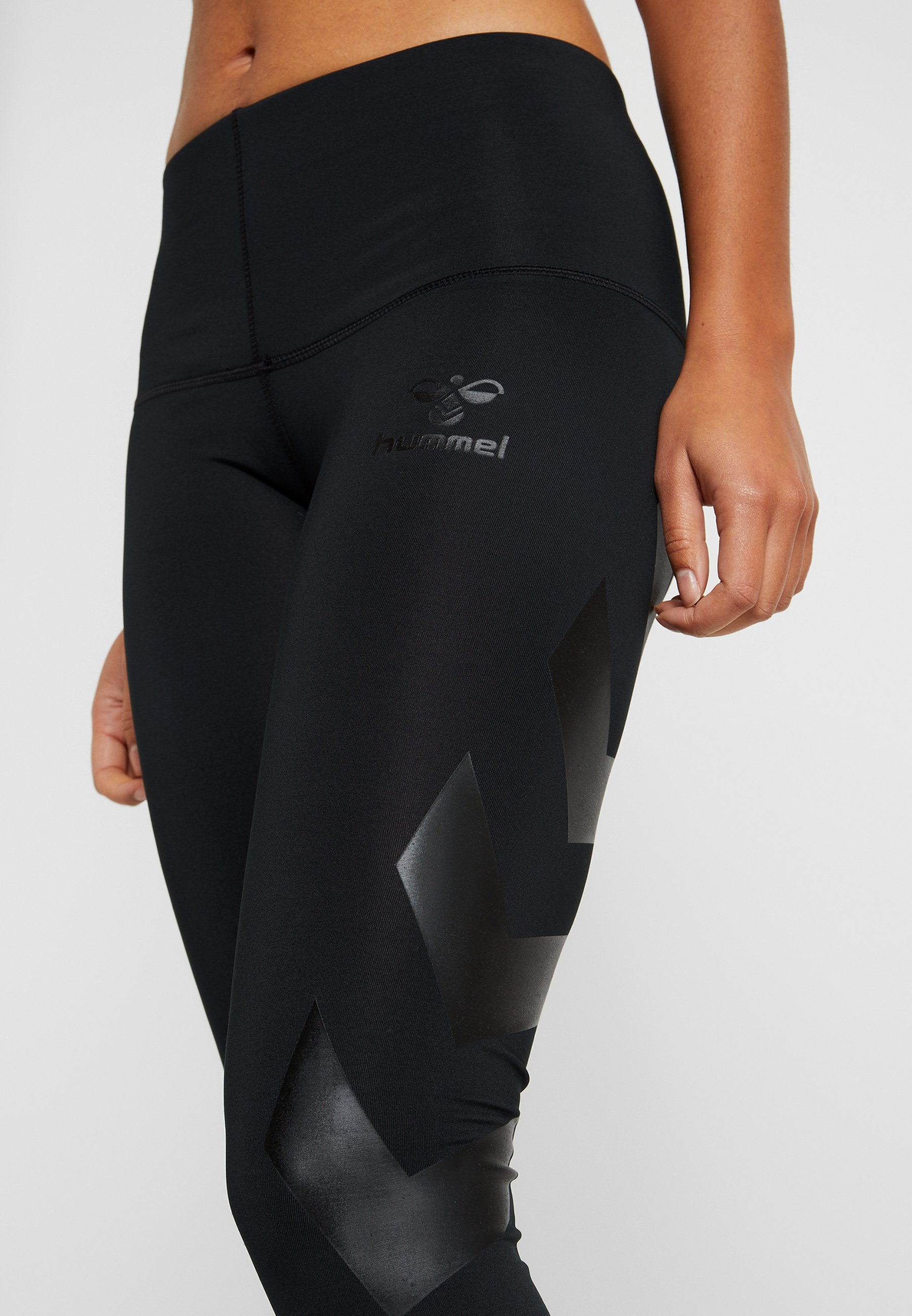 Hummel HMLPARIS - Leggings - black eZhp0
