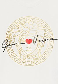 Versace - MANICA CORTA - T-shirt imprimé - bianco lana - 3