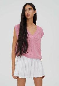 PULL&BEAR - A-line skirt - white - 3
