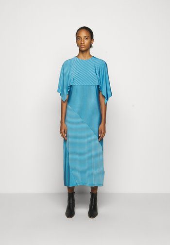 Žerzejové šaty - blue